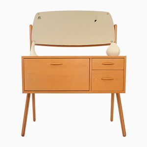 Danish Oak Dressing Table, 1950s