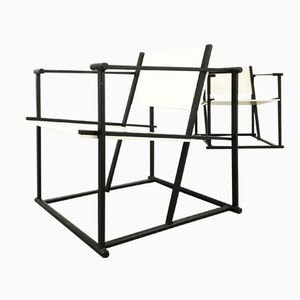 FM 60 Cube Chairs by Radboud van Beekum for Pastoe, Set of 2