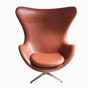 Dänischer The Egg Stuhl von Arne Jacobsen für Fritz Hansen, 1980er