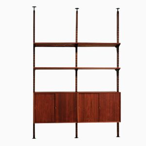 Danish Room Dividing Shelving Unit by Poul Cadovius for Cado, 1960s