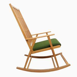 German Bamboo Rocking Chair, 1950s