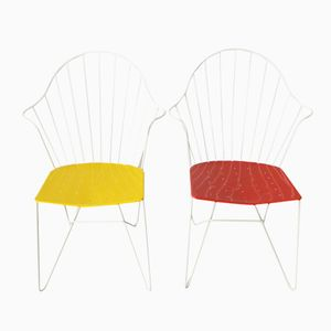Sonett Astoria Garden Chairs by Mödlhammer and Wladar for Fostel, Set of 2