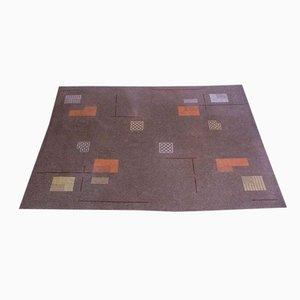 Large German Modernist Artist Rug / Carpet, 1950s
