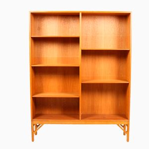 Danish Oak Bookcase by Børge Mogensen for FDB, 1960s