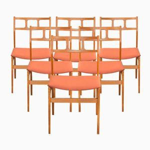 Danish Teak Chairs by Johannes Andersen, 1960s, Set of 6