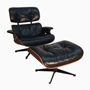 Sessel und Ottomane von Charles Eames für Vitra