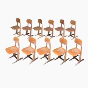 Dutch Chairs by C. Sasse for Casala, 1960s, Set of 10