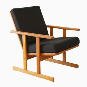 Vintage Danish Armchair by Poul Volther for FDB Møbler, 1960s