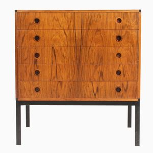 Mid-Century Medium Size Danish Rosewood Chest of Drawers