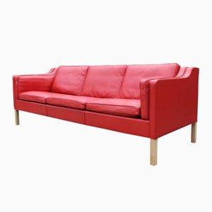 Dänisches 2213 Drei-Sitzer Sofa von Børge Mogensen für Fredericia Furniture, 1980er