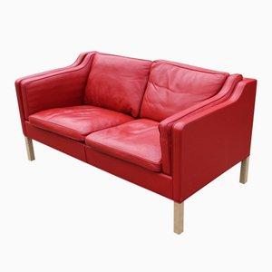 Dänisches 2212 Zwei-Sitzer Sofa von Børge Mogensen für Fredericia Furniture, 1980er