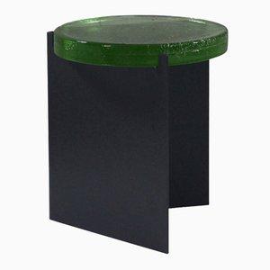 Alwa in Schwarz mit Grüner Glasplatte von Sebastian Herkner für Pulpo