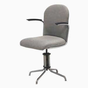 Dutch 356 Desk Chair by W.H. Gispen for Gispen, 1930s