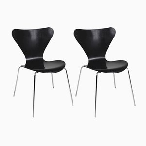 Series 7 Chairs by Arne Jacobsen for Fritz Hansen, 1979, Set of 2