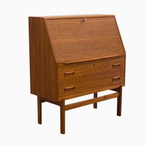 Danish Model 68 Teak Secretary by Arne Wahl Iversen for Vinde Møbelfabrik, 1950s