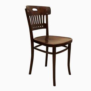 Chaise en h tre et bois courb 1900 en vente sur pamono for Chaise d appoint