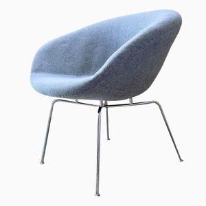 Dänischer Pot Chair von Arne Jacobsen für Fritz Hansen, 1950er