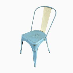 Französischer Stuhl von Tolix, 1950er