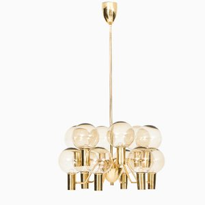 T372/12 Patricia Chandelier by Hans-Agne Jakobsson, 1960s