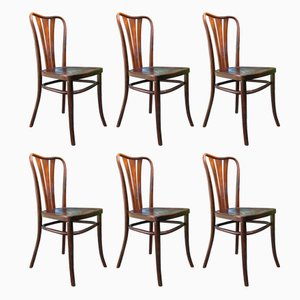 Vintage Dining Chairs from Thonet, 1930s, Set of 6