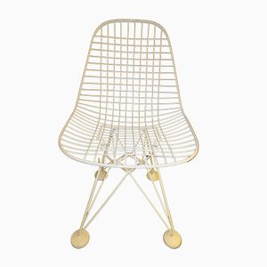 DKR Wire Chair by Charles & Ray Eames for Herman Miller, 1951