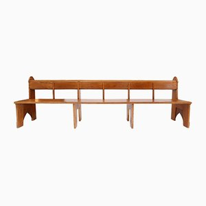 Dutch Oak Bench, 1920s