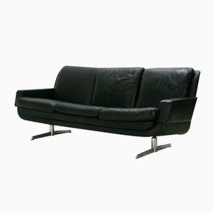 Vintage Nappa Leather Three-Seater Lounge Sofa