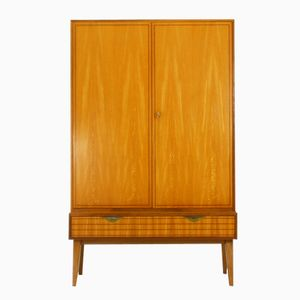 German Ash & Walnut Highboard, 1950s