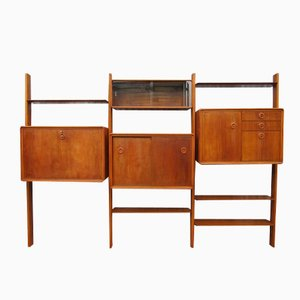 Dutch Wall Unit Shelf System by William Watting, 1950s