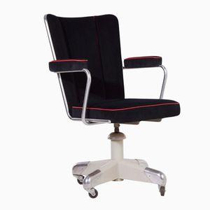 Dutch 357 PQ President Desk Chair by Christoffel Hoffmann for Gispen, 1950s