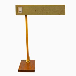 Adjustable German Brass Table Lamp from Pfäffle-Leuchten, 1950s