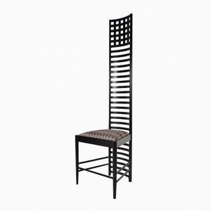XL Edition Hill House Stuhl mit Leiterlehne von Charles Rennie Mackintosh für Cassina, 1980er