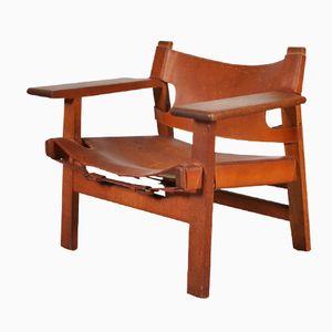 Spanischer Stuhl von Børge Mogensen für Fredericia, 1950er