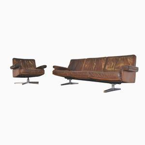 DS 35 Sofa und Sessel von De Sede, 1960er