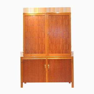Swedish Exotic Wood Cabinet by David Rosén for Nordiska Kompaniet, 1953