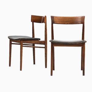 Dining Chairs by Henry Rosengren Hansen, Set of 4