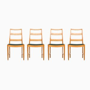 Mid-Century Dining Chairs by Bertil Fridhagen, Set of 4