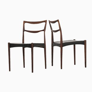 Mid-Century Dining Chairs by Henry W. Klein, Set of 4