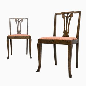 Art Deco Chairs from Bodafors, Set of 2