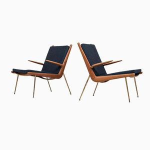 FD-134 Easy Chairs by Peter Hvidt & Orla Mølgaard-Nielsen for France & Søn, Set of 2