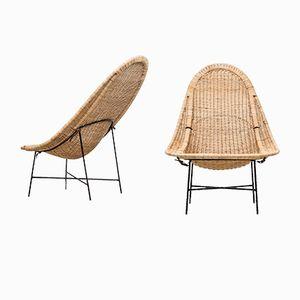 Stora Kraal Easy Chairs by Kerstin Hörlin-Holmquist for Nordiska Kompaniet