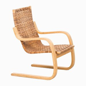 Cantilever Easy Chair 406 by Alvar Aalto for Artek