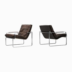 Danish BO-911 Easy Chairs by Jørgen Lund & Ole Larsen for BO-EX, 1960s, Set of 2