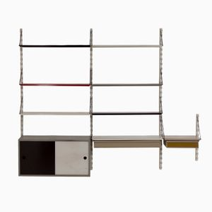 Dutch Wall Unit with Cabinet by Tjerk Reijenga for Pilastro, 1960s
