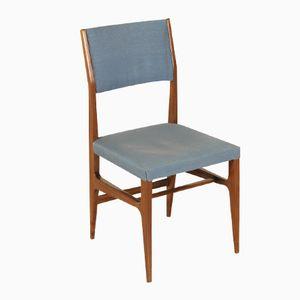 Italian Mahogany Chair by Gio Ponti for Cassina, 1950s