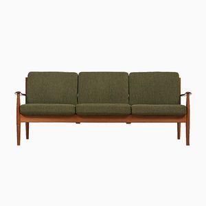 Green 118 Sofa by Grete Jalk for France & Daverkosen
