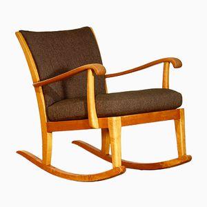 Rocking Chair par Axel Larsson pour Bodafors, Suède, 1950s