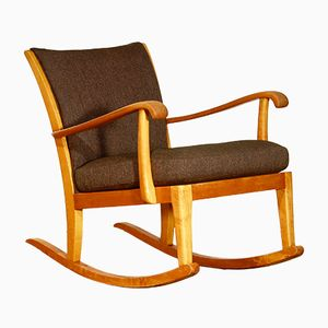 Swedish Rocking Chair by Axel Larsson for Bodafors, 1950s