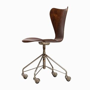 3117 Office Chair by Arne Jacobsen for Fritz Hansen