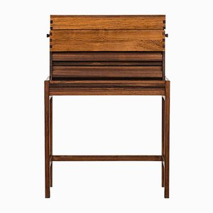 Mid-Century Rosewood Storage Box